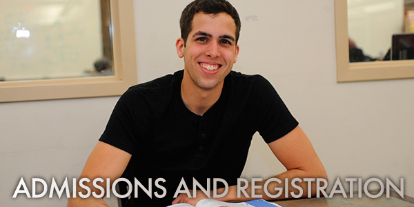 Admissions and Registration